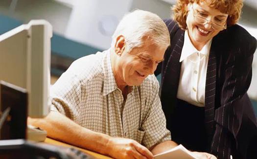 Работа для тех, кому за сорок